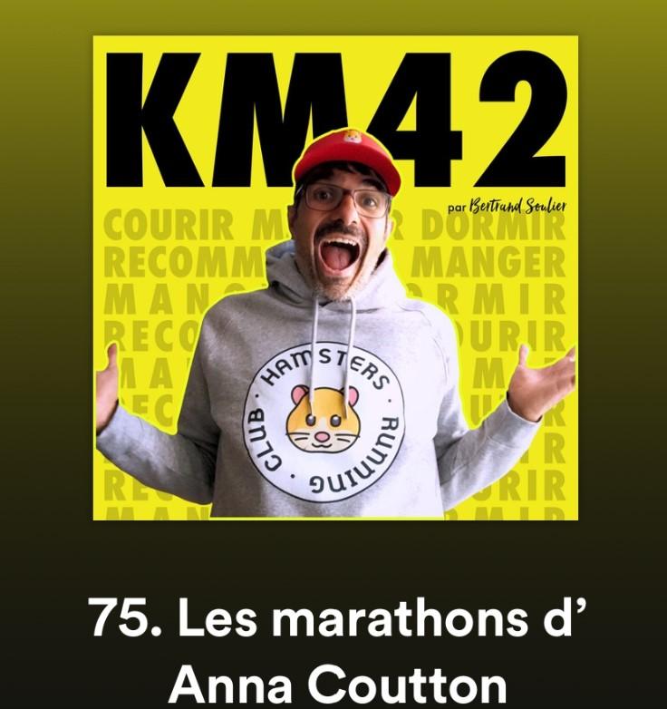 km42 podcast anna coutton